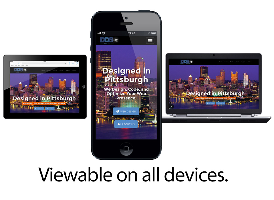 We Design Mobile Friendly Websites