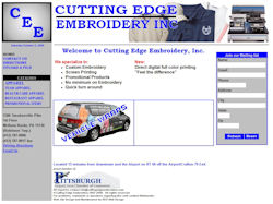 Cutting Edge Embroidery, Inc